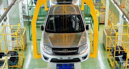 Первые авто Lada Granta и Lada Kalina казахстанской сборки сошли с конвейера