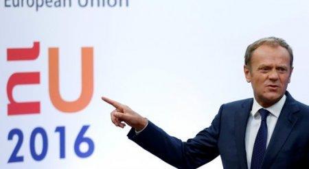 """Председатель Евросовета пообещал сохранить единство ЕС после """"брексита"""""""