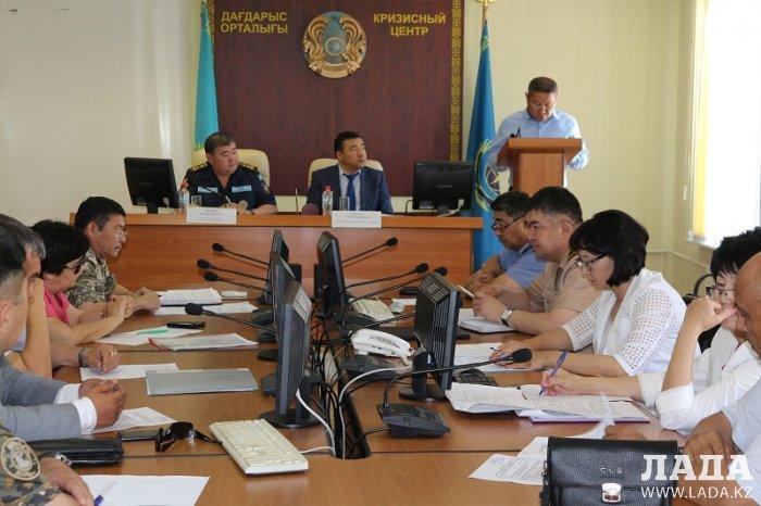 В ДЧС Мангистау обсудили вопросы обеспечения безопасности в пляжных зонах Каспия