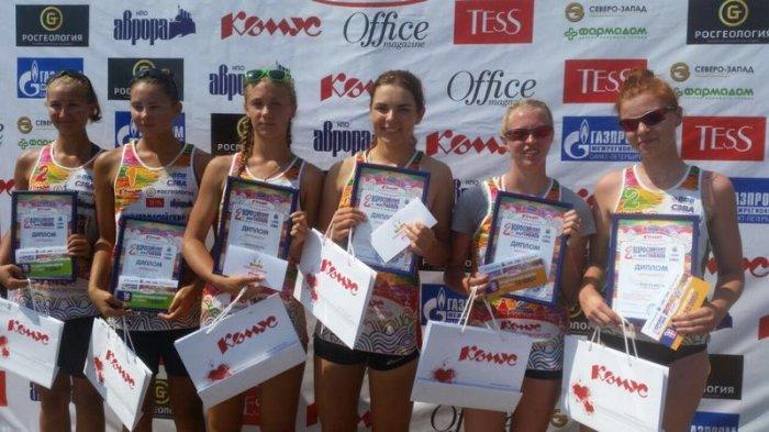 Cпортсмены из Актау заняли первое место на Всероссийском детском фестивале пляжного волейбола