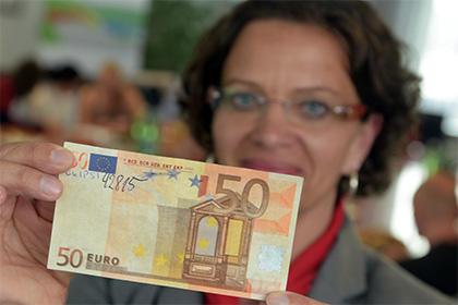 Европейский ЦБ показал обновленные 50 евро