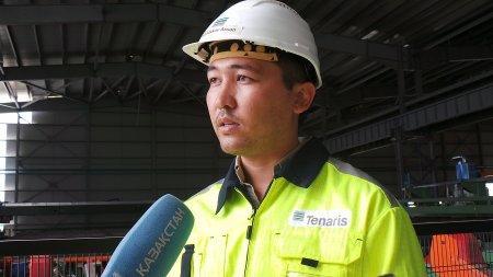 В Актау презентовали завод трубной продукции с газогерметичными соединениями класса «премиум»