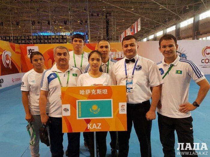 Боксер из Актау Ерик Альжанов завоевал золотую медаль на международном турнире в Китае