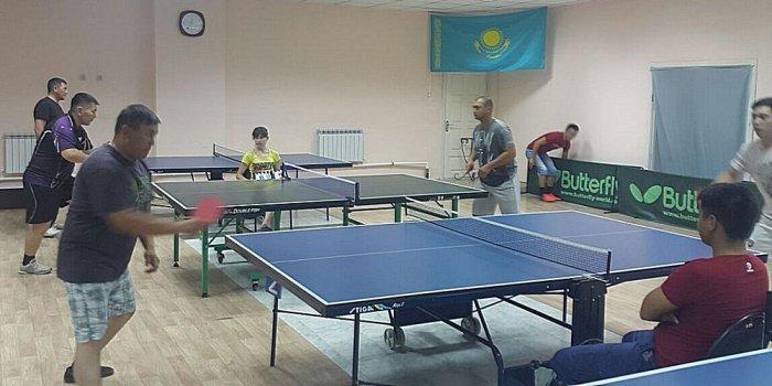 В Актау определили победителей городского турнира по настольному теннису среди военнослужащих