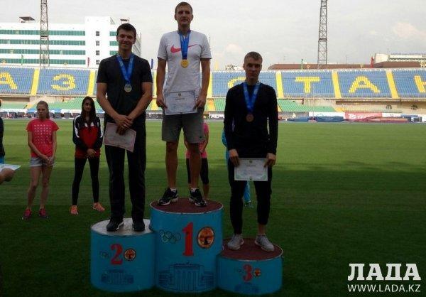 Легкоатлеты из Актау завоевали пять медалей на открытом чемпионате Казахстана
