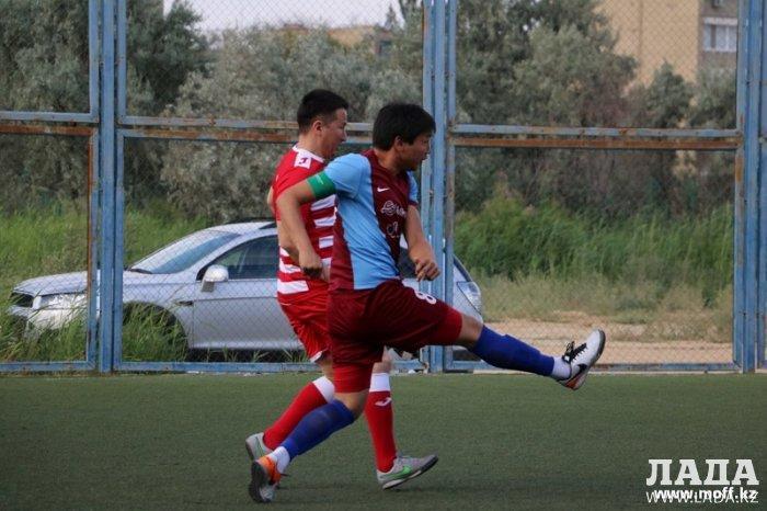 В Актау прошли матчи VII тура городского чемпионата по мини-футболу 6х6