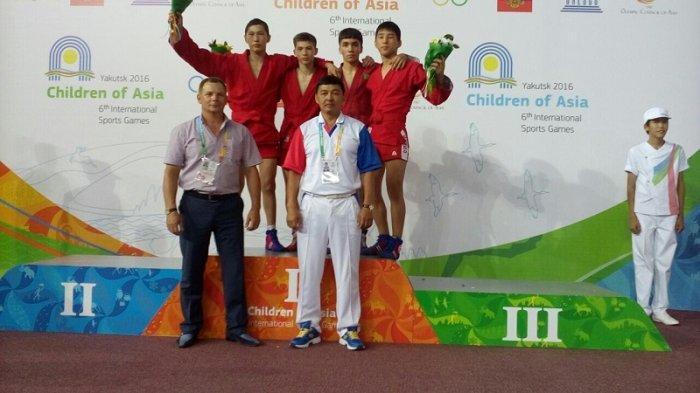 Самбист из Актау Нурбек Куанышулы стал бронзовым призером международного турнира «Дети Азии» в Якутии