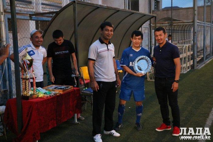Команда «Алихан» стала победителем чемпионата по мини-футболу 6х6 в Актау