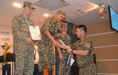 В Актау прошли соревнования по пулевой стрельбе среди военнослужащих