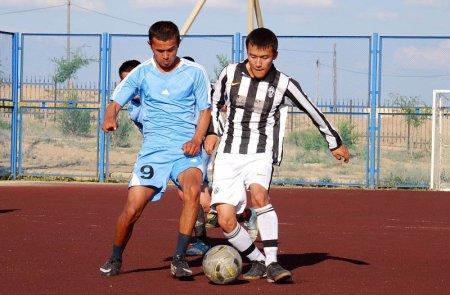 Команда из Бейнеу примет участие в чемпионате Казахстана по футболу 6х6 среди любителей