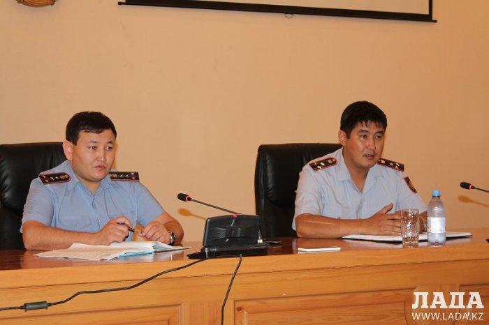Проблему квартирных краж обсудили полицейские с представителями ЖКХ в Актау