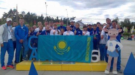 Легкоатлетка из Актау Арина Мишеева завоевала три медали на международных играх «Дети Азии 2016»