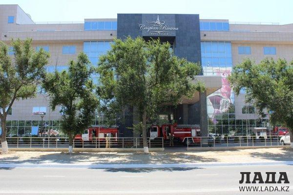 Пожарно-тактические учения прошли в гостинице «Caspian Riviera» Актау