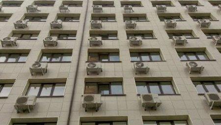 В Казахстане отменили запрет на размещение кондиционеров на фасадах зданий
