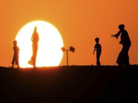 В Кувейте зафиксирована самая высокая температура на земле
