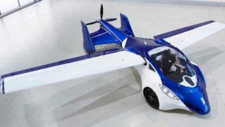 Компания AeroMobil представляет прототип футуристического летающего автомобиля