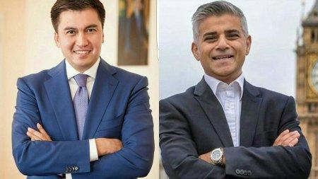 Мэр Лондона предложил свою помощь акиму Шымкента
