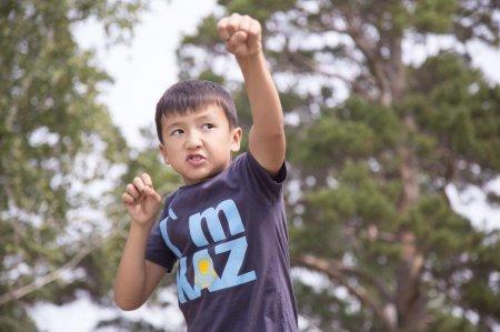10-летний мальчик установил рекорд по отжиманиям в поддержку сборной РК в Рио