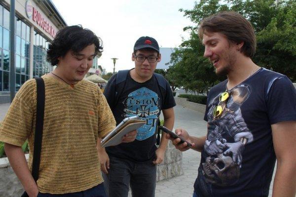 Актауские любители половить покемонов объединились в сообщество