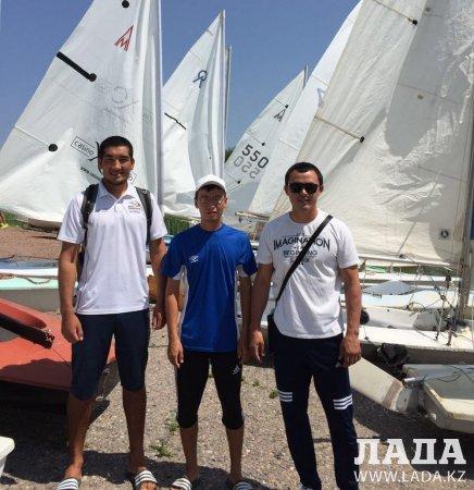 Девять медалей привезли актауские яхтсмены с чемпионата Казахстана
