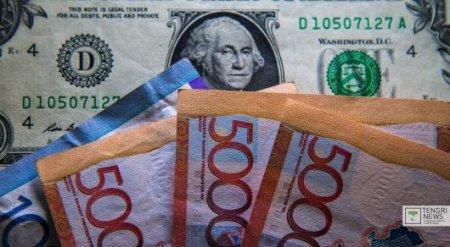 Курс нацвалюты к доллару укрепился на 4 тенге