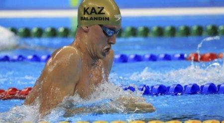 Баландин стал первым в истории Казахстана олимпийским чемпионом по плаванию