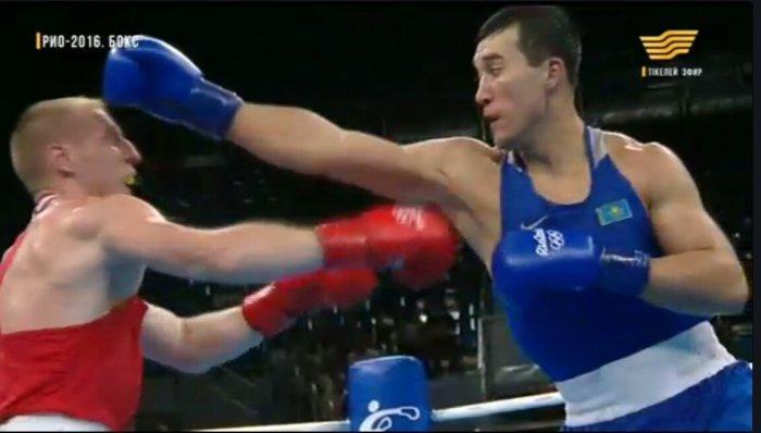 Адильбек Ниязымбетов пробился в 1/4 финала Олимпиады в Рио