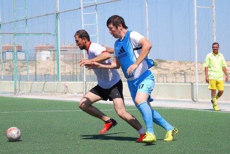 Турнир по мини-футболу среди подразделений АМСТ прошел в Актау