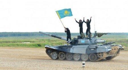 Сборная Казахстана заняла второе общекомандное место на армейских играх