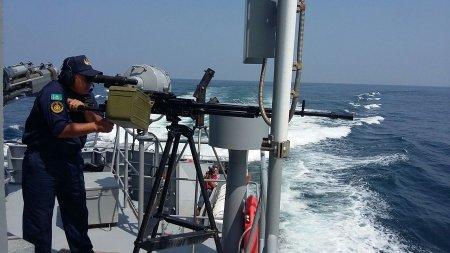 Военные моряки из Актау заняли второе место в международном конкурсе «Кубок моря-2016»