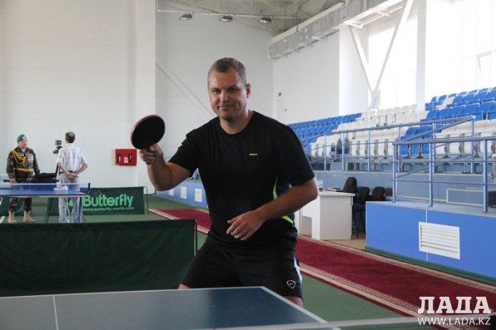 В Актау стартовал открытый республиканский турнир по настольному теннису