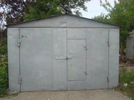Наглый вор украл гараж прямо с территории УВД Жезказгана