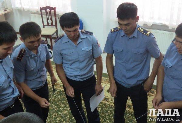Для совершенствования работы мангистауских полицейских привлекли психологов