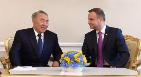 Назарбаев выдвинул инициативу по проработке соглашения между Казахстаном, Польшей и Россией