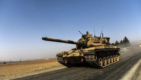Турецкая армия вошла в Сирию