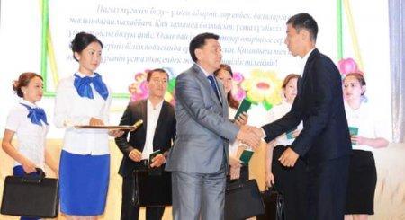 Три рейтинговые школы Мангистауской области получили сертификаты на 200 тысяч тенге