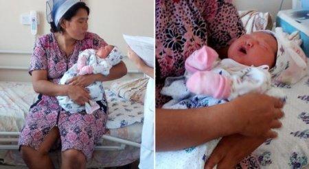 41-летняя жительница Актобе родила 14-го ребенка
