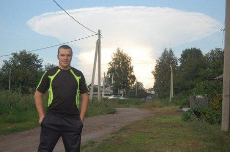 Пользователей перепугало странное облако недалеко от границы Казахстана