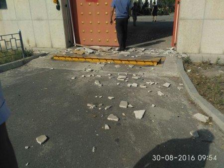 У посольства Китая в Бишкеке прогремел взрыв - СМИ