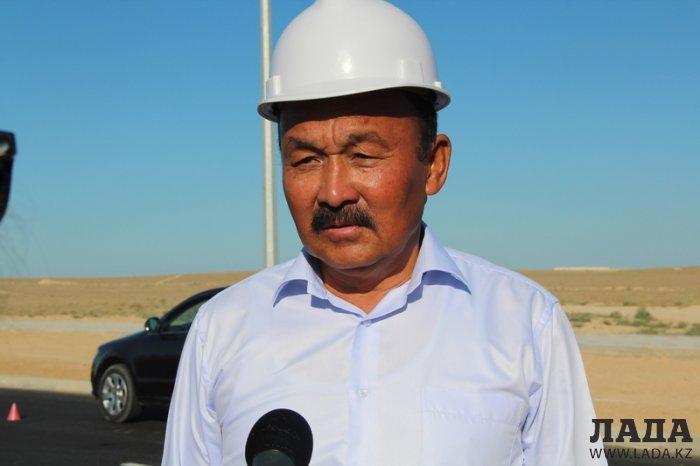Жители Актау смогут проехать в аэропорт по новой дороге