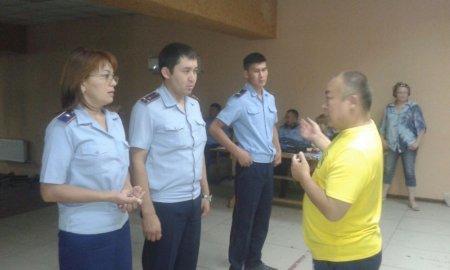 В Актау сотрудники и осужденные колоний строгого режима состязались в спортивных соревнованиях