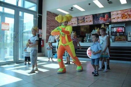 Счастливое детство вместе с Burger King