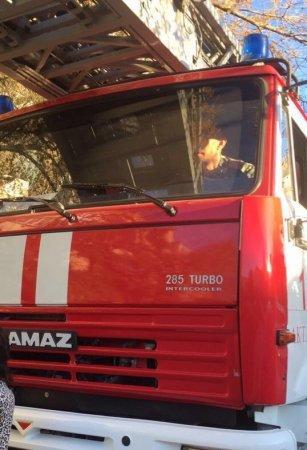 Съемная квартира загорелась в Актау