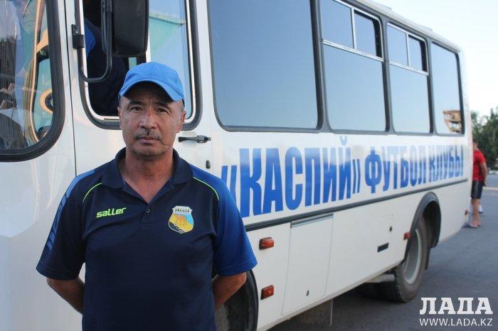 Футбольный клуб «Каспий» вничью сыграл с «Алтаем» из ВКО