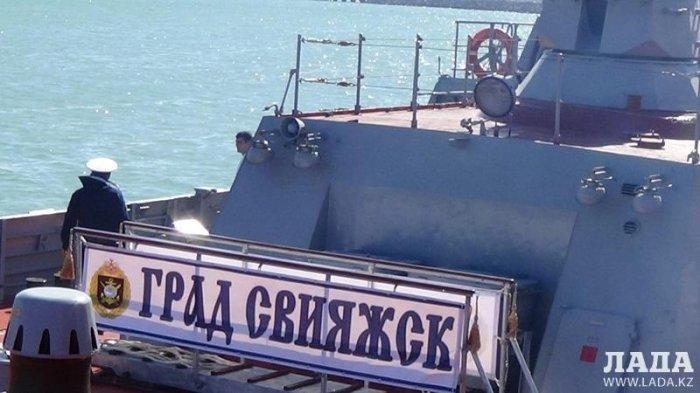 Корабли Военно-морского флота России посетят морской порт Актау