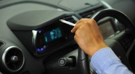 Мажилисмен предложил запретить казахстанцам курить за рулем