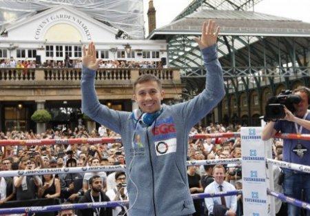 Геннадий Головкин получит рекордный гонорар за бой с Келлом Бруком