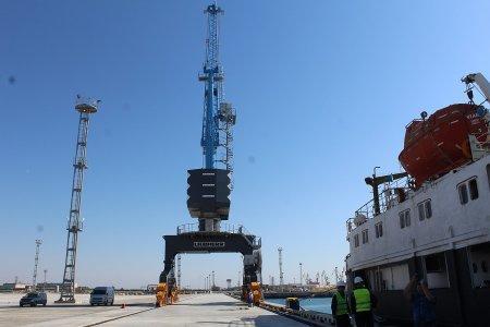 Северный морской порт Актау получил статус международного