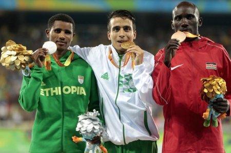 Паралимпийцы пробежали 1500 м быстрее, чем олимпийский чемпион Рио на той же дистанции