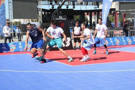 В чемпионате Казахстана по баскетболу 3х3 в рамках «Aktau Open Fest» принимают участие 15 команд